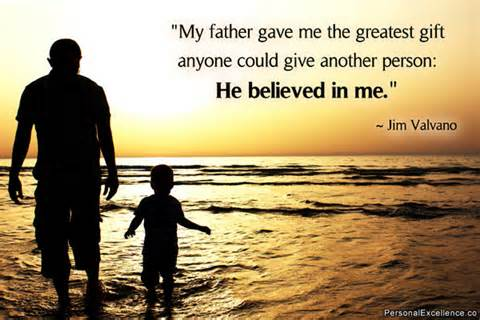 Privileged Have Amazing Father Who Believes And Today